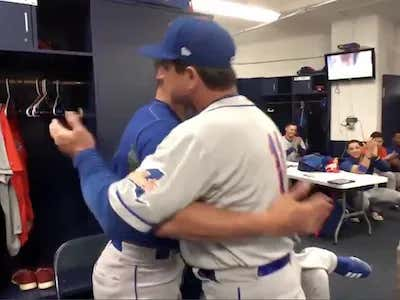 This Video Of A Mets Minor League Player Finding Out He Is Getting Called Up To The Bigs For The First Time Is Fucking Awesome