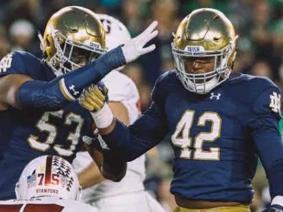 If You're Not Taking Notre Dame -18.5 vs Louisville Then You're A Big Dumb Idiot