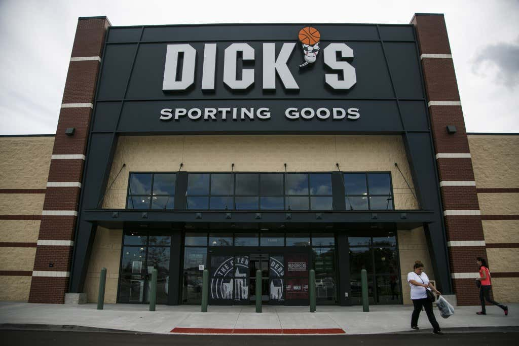 Inside A Dick's Sporting Goods Inc. Location As Earnings Figures Are Released