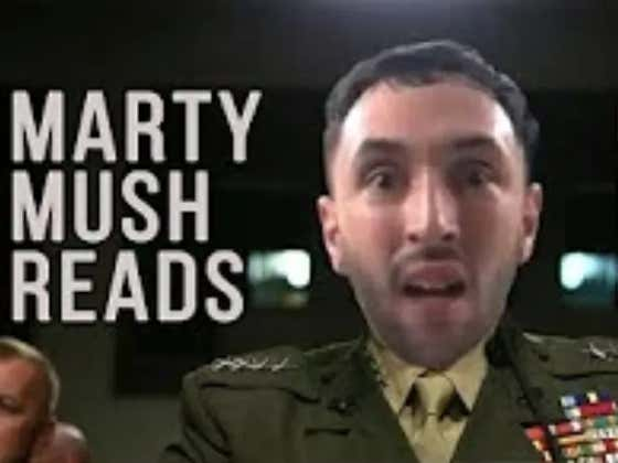 ZBT Special: Marty Mush Reads General Mattis' Wall Street Journal Op-Ed