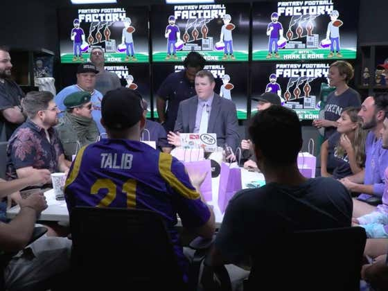 Watch Glenny Balls & Mush Bob For Apples To Determine The 2019 Barstool Fantasy League Draft Order