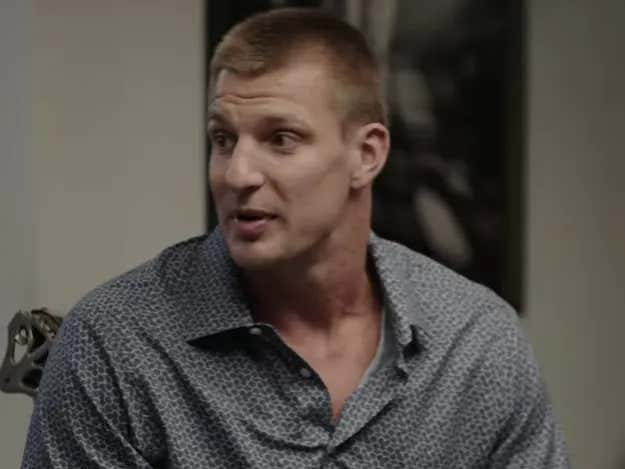 Gronk Bared His Soul a Little on 'The Shop' and it Was Compelling TV