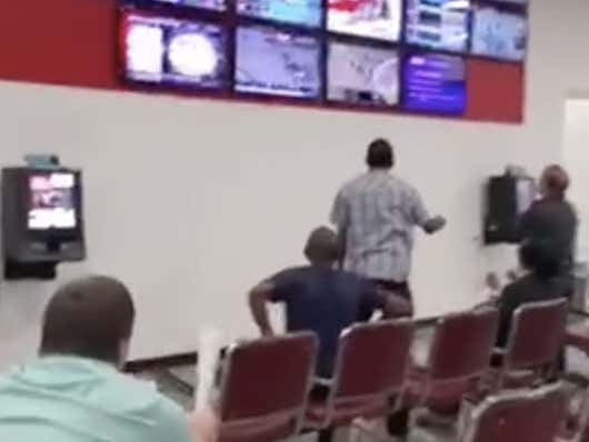 Degenerate Gambler Rides Himself To A Win