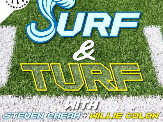 Surf & Turf Football Podcast Premiere Episode f/ Ryan Clark Out Now