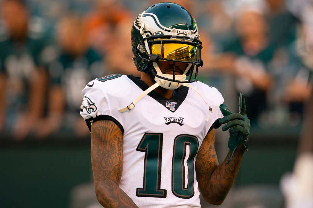 REPORT: All Of The Eagles Receivers Seem To Be Doing Well