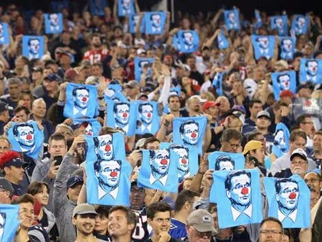 Survey Says: Patriots Fans are No. 1! (At Annoying Everybody Else)