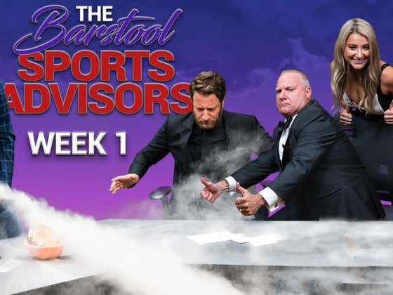 Barstool Sports Advisors NFL Week 1