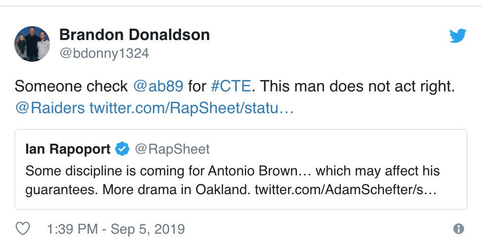 People Vented Their Frustrations About The Antonio Brown