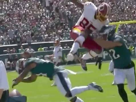 Vernon Davis Just Started The Skins Season Better Than Any Start To Any Season, Ever