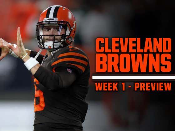 Browns Trying To Win First Week 1 Game In 15 YEARS