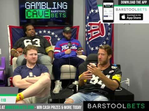 Pats vs Steelers Gambling Cave Replay