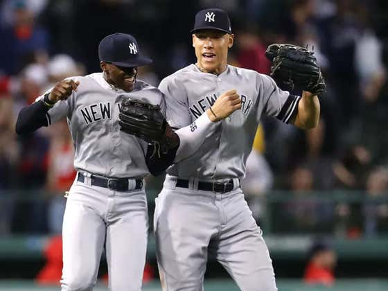 The Yankees Eliminated The Sox From The AL East And Blasted 'New York, New York' In The Visitor's Clubhouse