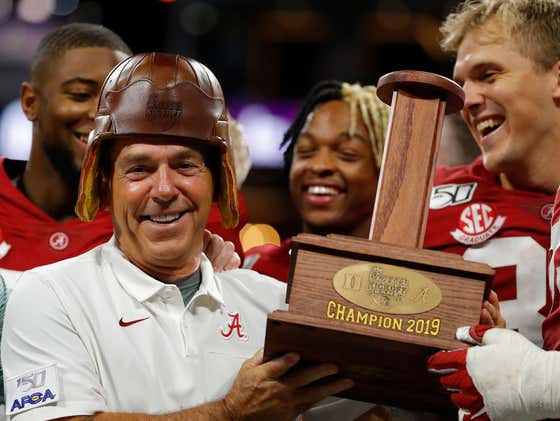 Nick Saban Confirms That He Does, In Fact, Tell 'Deez Nuts' Jokes
