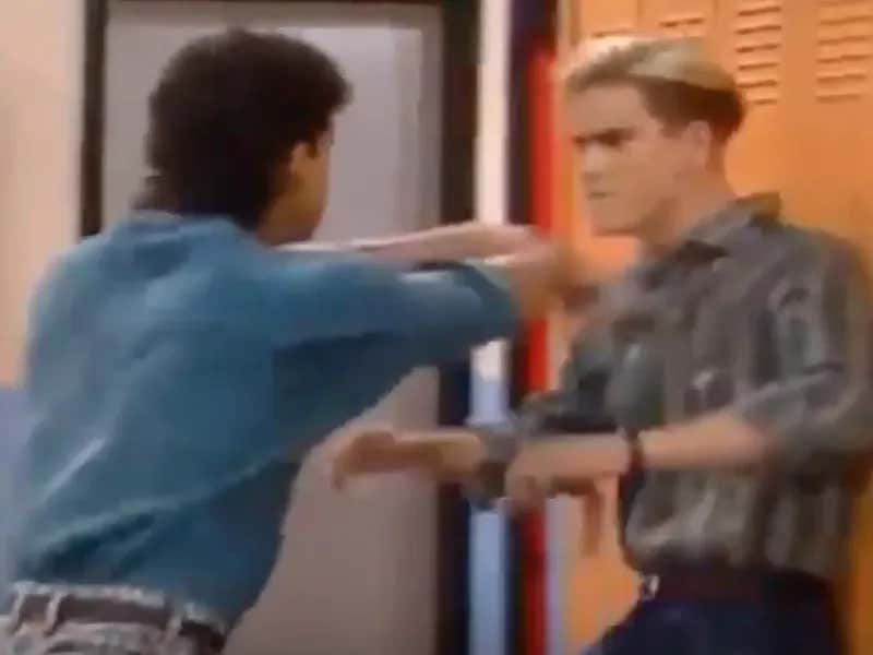 This Detailed Video Breakdown Of The Fight Between Zack Morris And AC Slater Is The Best Thing You Will Watch Today