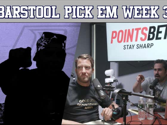 Return of the Ryders - Barstool Pick Em Week 3 Full Video