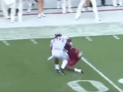 """Najee Harris Says: """"Get The HELL Off Me"""""""