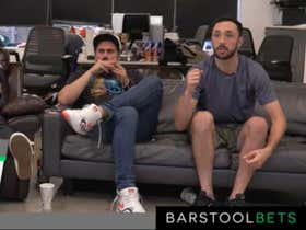 Gambling Cave Replay: NFL Sunday - Week 2 at Barstool HQ