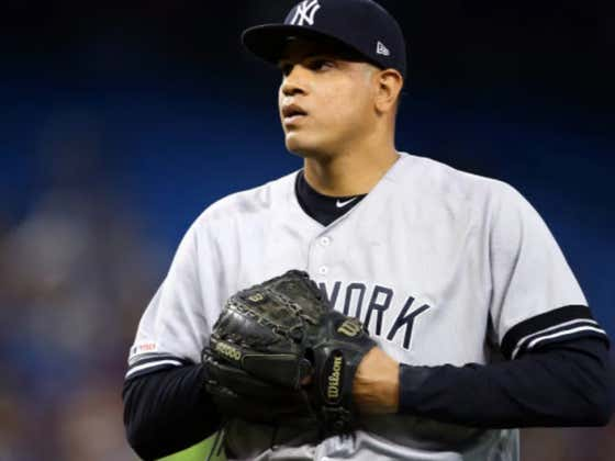 Dellin Betances Tore His Achilles Jumping Off The Mound On Sunday - This Season is a Fucking Joke