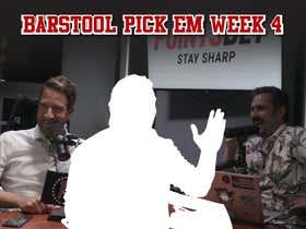 Barstool Pick Em Week 4 Full Video