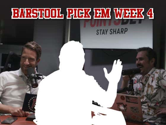 Barstool Pick Em Week 4 Full Video