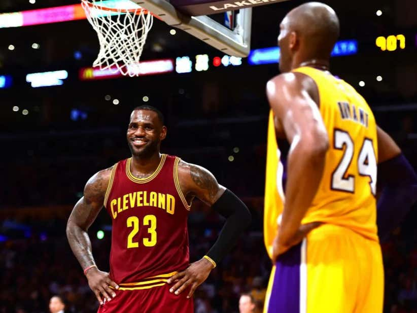 Don't Even Try To Compare LeBron And Kobe To Richard Jefferson Because LeBron Was Never The Second Best Player On His Team