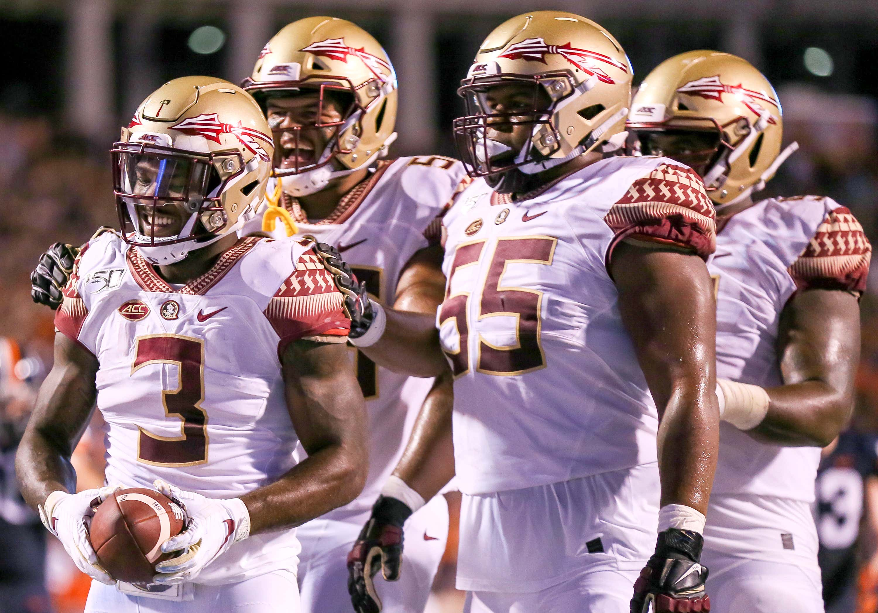 COLLEGE FOOTBALL: SEP 14 Florida State at Virginia