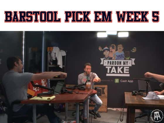 Barstool Pick Em Week 5 - Full Video