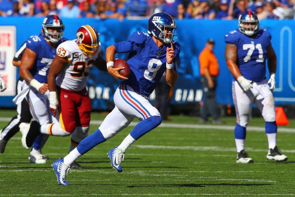 NFL: SEP 29 Redskins at Giants