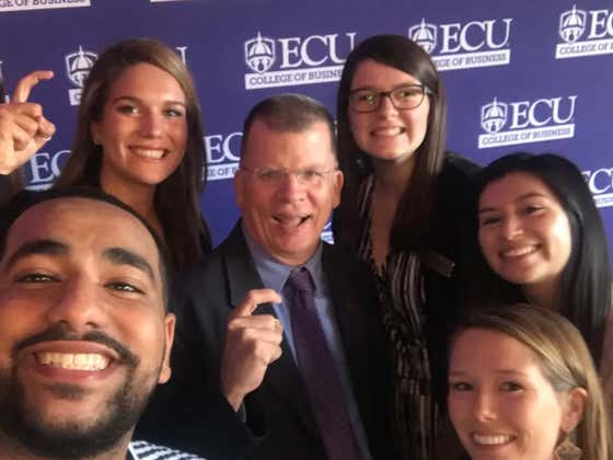 ECU Chancellor Placed On Leave After Drinking Beers At Sup Dogs With Students