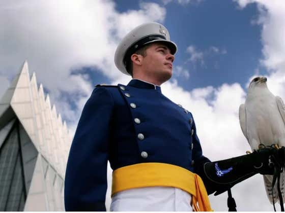 Air Force's Mascot Aurora Sadly Passed Away And Are -3.5 Saturday