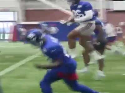 Do You Guys Want To Watch More Videos Of Saquon Running And Cutting And Looking Healthy As Hell? Me Too!