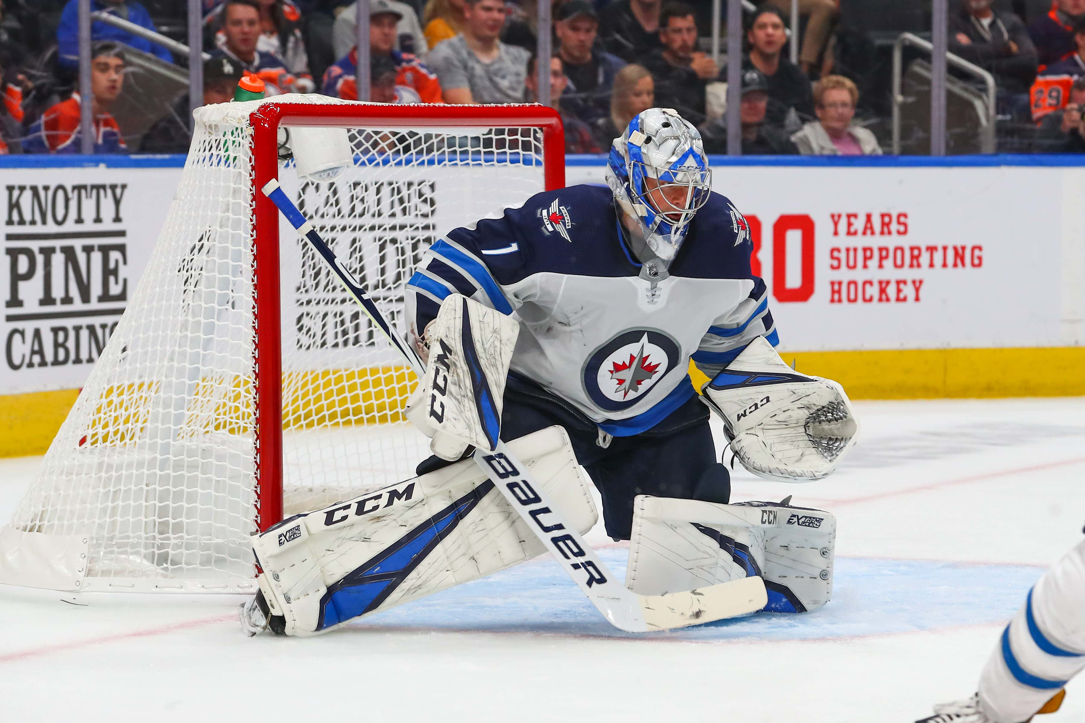 NHL: SEP 16 Jets at Oilers