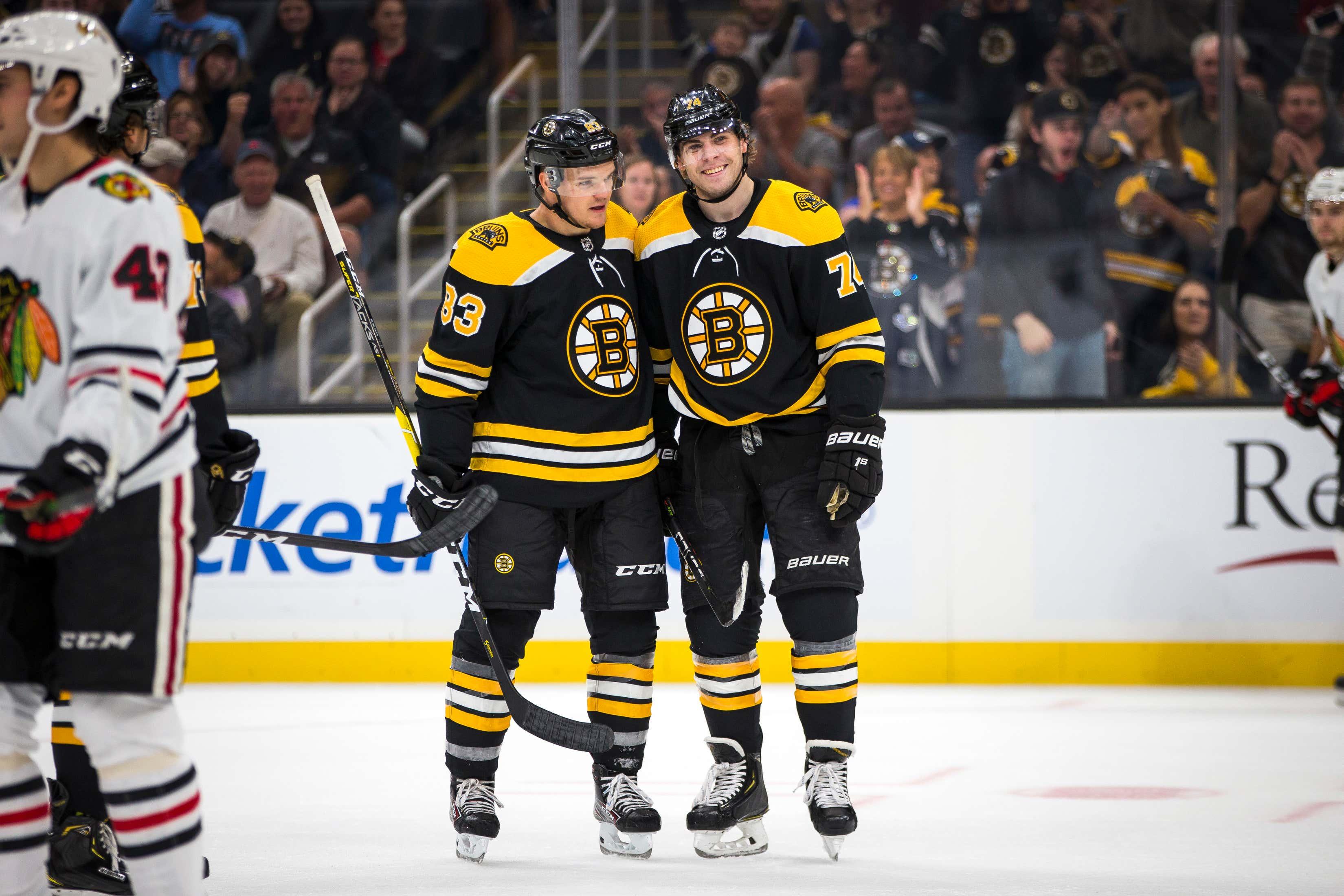NHL Pre-Season: Chicago Blackhawks Vs Boston Bruins At TD Garden