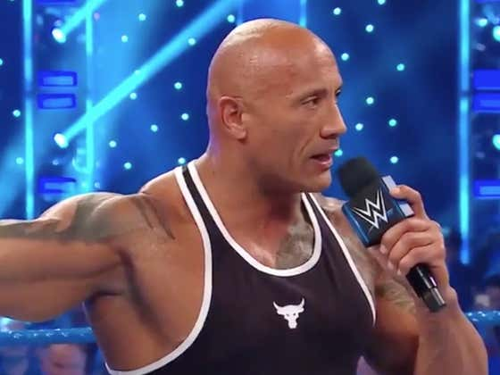 The Rock Is STILL The Most Electrifying Man In Sports Entertainment, If You Were Wondering