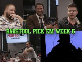Barstool Pick Em Podcast: Week 6 Full Video