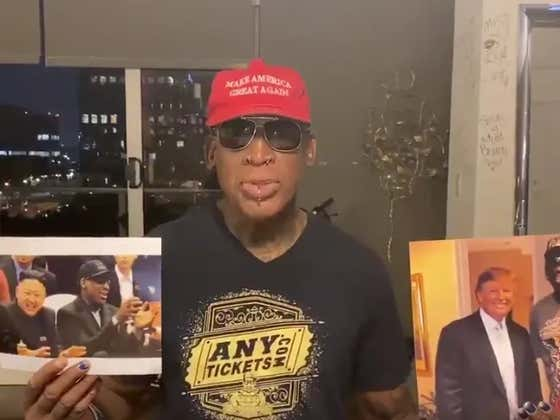 Meanwhile In China Vs The NBA: Dennis Rodman To The Rescue?