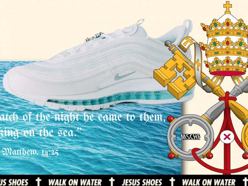 Nike \u0027Jesus Shoes\u0027 Contain Holy Water From The River Jordan