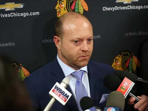 Will Stan Bowman Finish The Season As Blackhawks General Manager?
