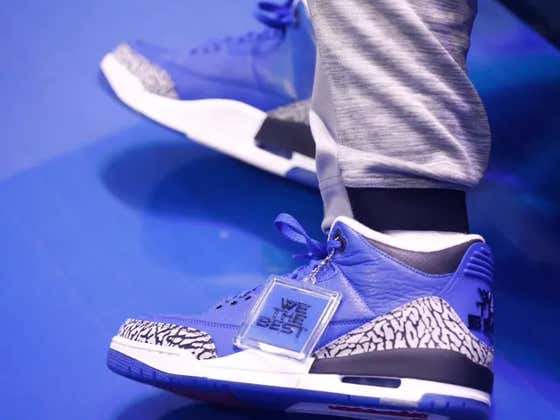 DJ Khaled Is Out Here Giving Coach Cal Custom $5,000 Jordan 3 'Another One' Sneakers For Midnight Madness