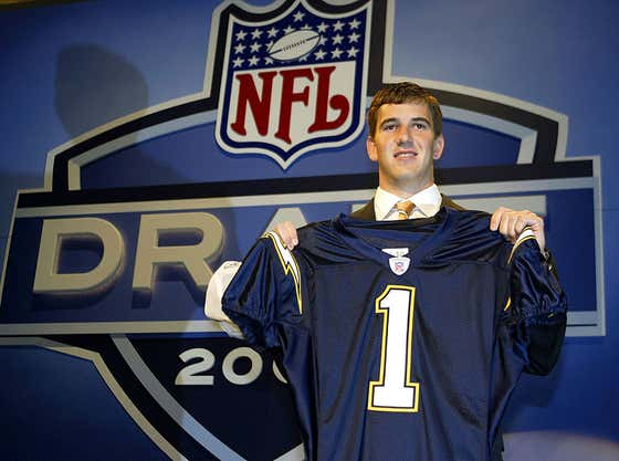 Eli Manning Finally Admitted Why He Refused To Play For The Chargers Before The 2004 NFL Draft
