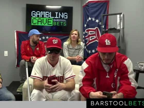 Gambling Cave Live Blog: Cardinals Vs Nationals