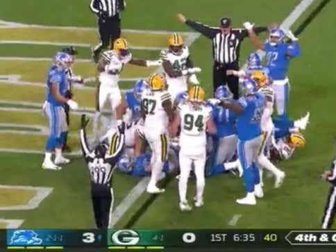Rumors Flying Massive Wagers Keep Being Placed On Games Officiated By Crew From Packers-Lions Games Last Night