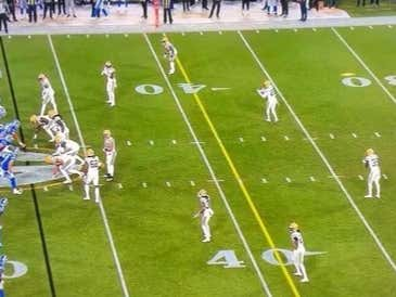 Green Bay Got Away With Having 13 Men on the Field and For Some Reason Detroit Has a Problem With That