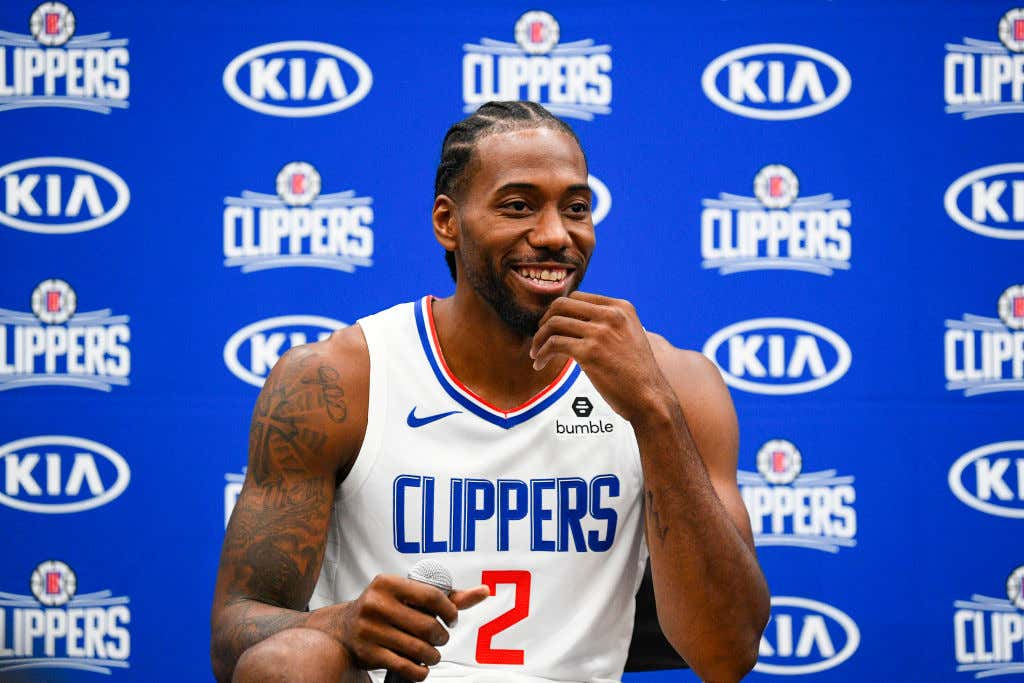 NBA: SEP 29 Clippers Media Day