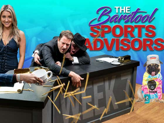 Barstool Sports Advisors Week 7  (Featuring Joe Buck)