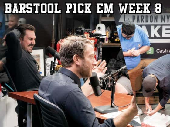 Barstool Pick Em Week 8 Full Video