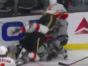 Nothing Like A Giant Brawl Between The Flames And The Kings