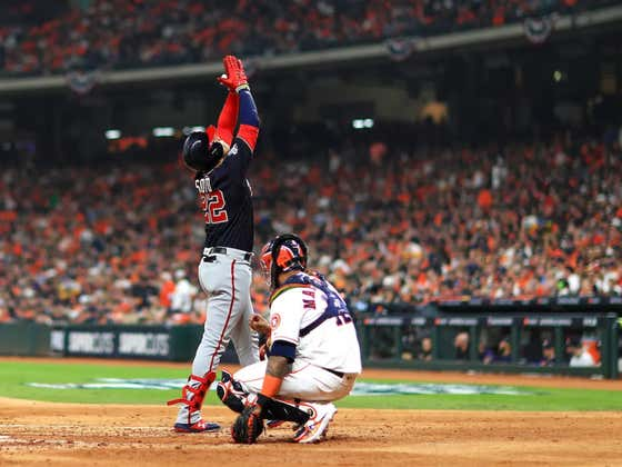 The Juan Soto Show Has The Nats Out To A 1-0 Series Lead In The Fall Classic