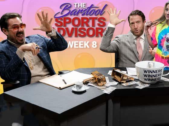 Barstool Sports Advisors Week 8