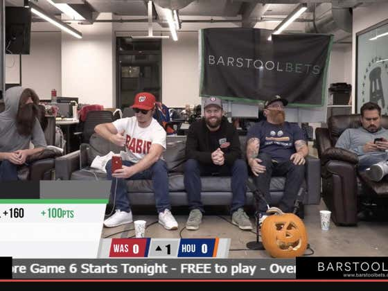 Gambling Cave Live Blog: World Series Game 6 Nationals vs Astros